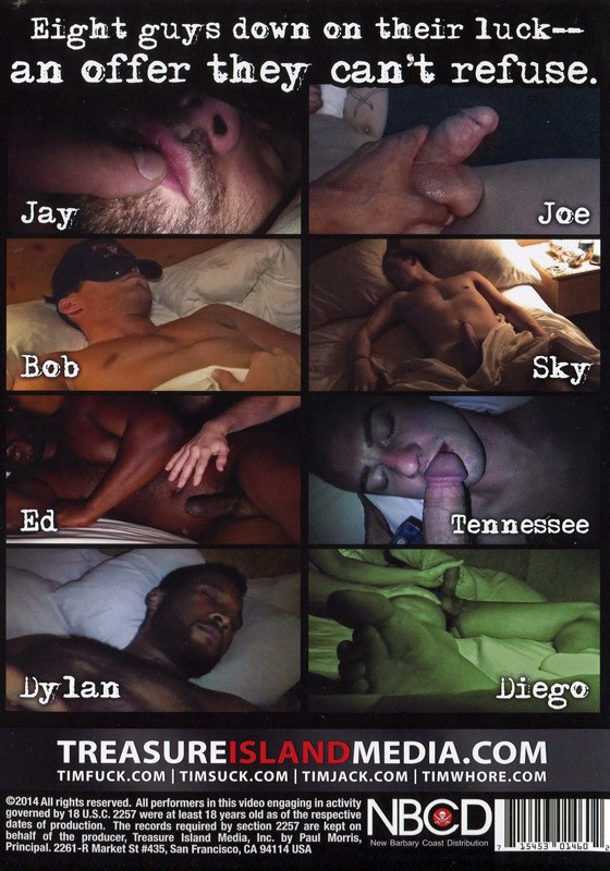 Knocked Out Jerked Off Vol. 9 DVD - Back