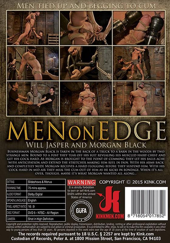 Men On Edge 28 DVD (S) - Back