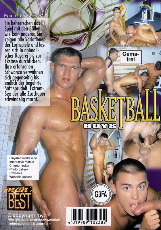 Basketball Boys DVD - Back