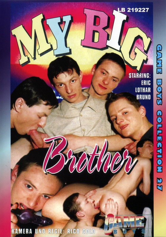 Game Boys Collection 27 - My Big Brother + Farbenspiele DVD - Front