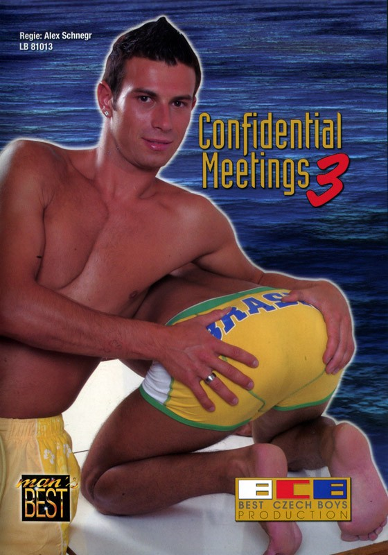 Confidential Meetings 3 DVD - Front