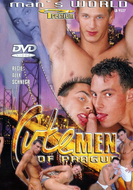 Cute Men Of Prague DVD - Front