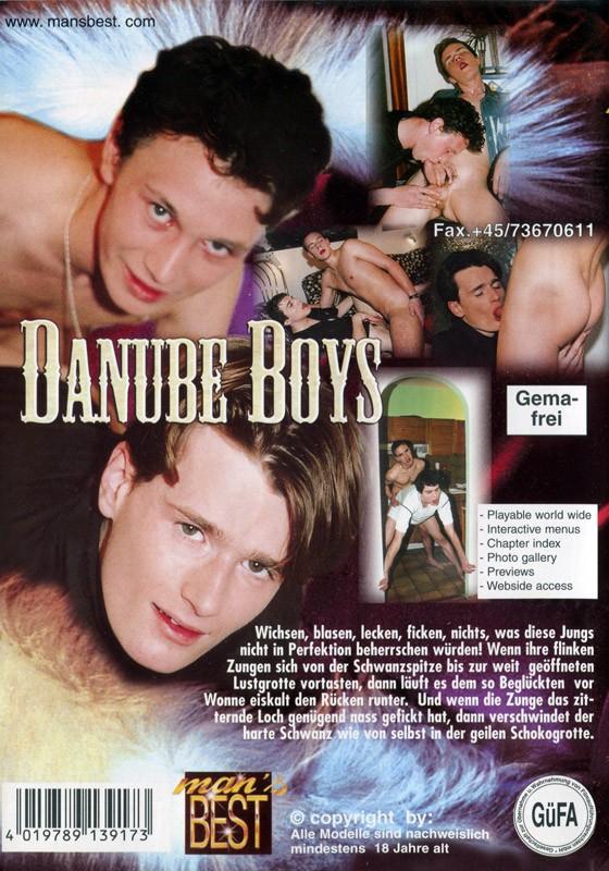 Danube Boys DVD - Back