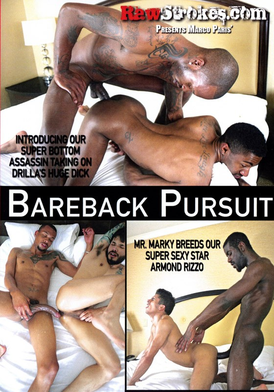 Bareback Pursuit DVD - Front