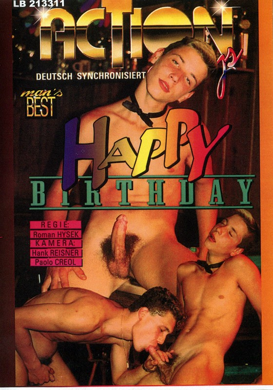 Happy Birthday DVD - Front