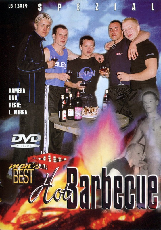 Hot Barbecue DVD - Front