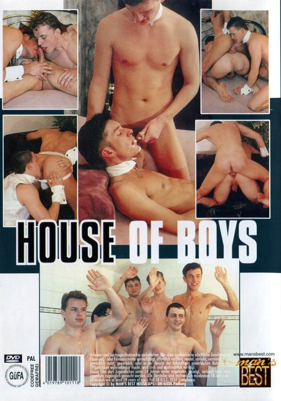 House of Boys DVD - Back