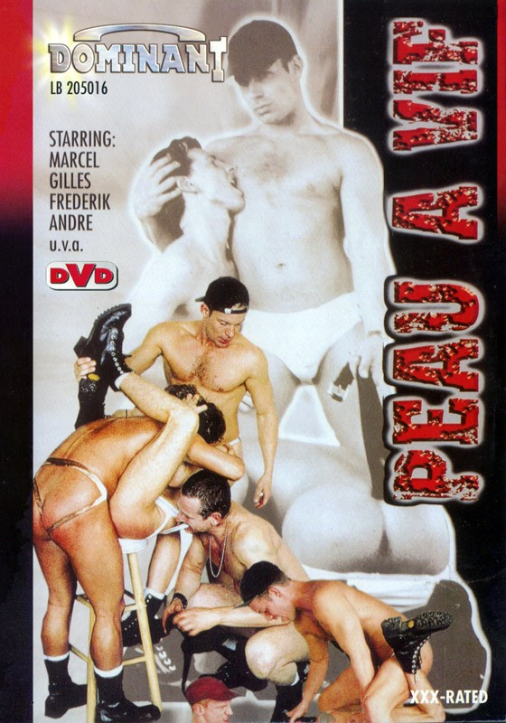 Peau A Vif DVD - Front