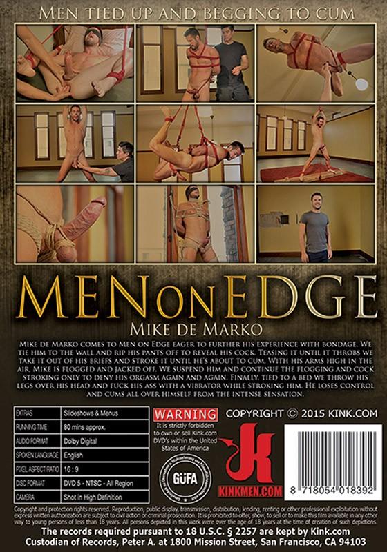 Men On Edge 29 DVD (S) - Back