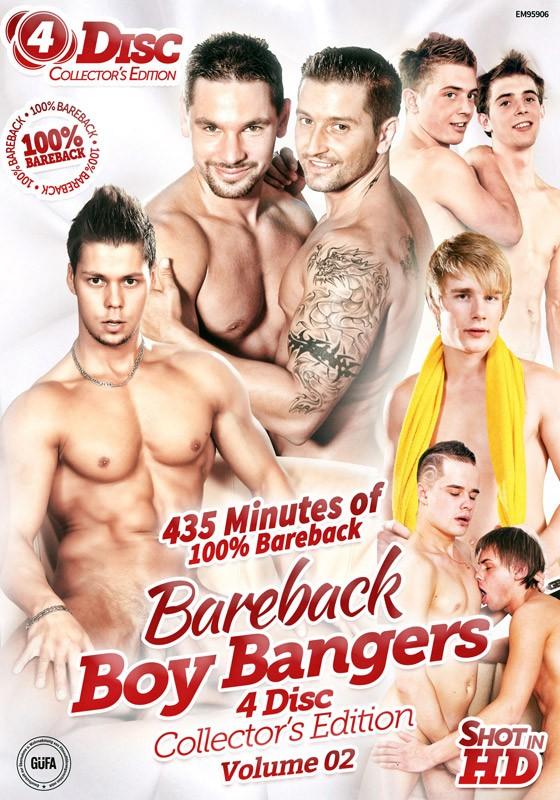 Bareback Boy Bangers Collector's Edition Volume 2 DVD - Front