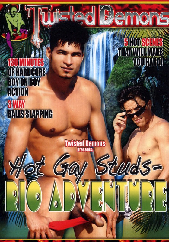 Hot Gay Studs - Rio Adventure DVD - Front