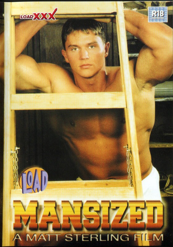 Mansized (Load XXX) DVD - Front