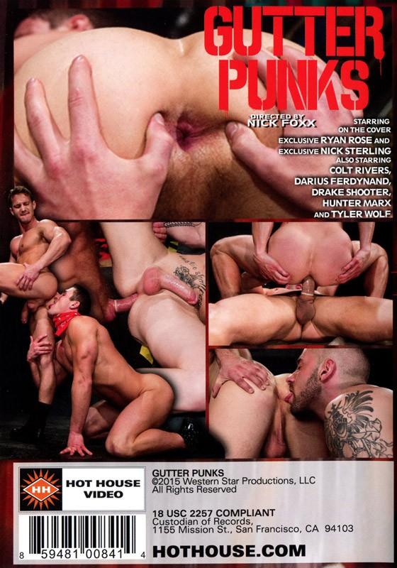 Gutter Punks DVD - Back