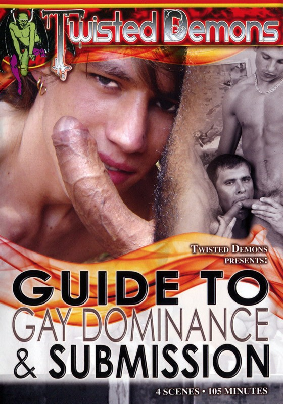 Guide to Gay Dominance & Submission Vol. 1 DVD - Front
