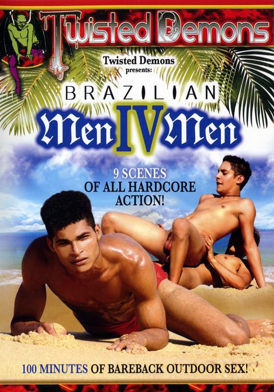 Brazilian MenIVMen Vol. 1 DVD - Front