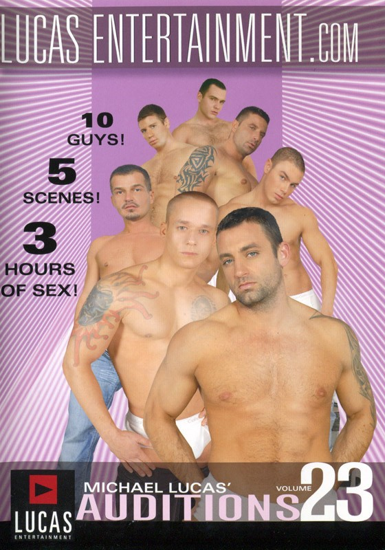 Auditions 23 DVD - Front