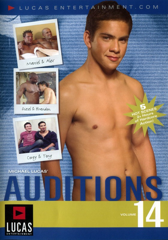 Auditions 14 DVD - Front