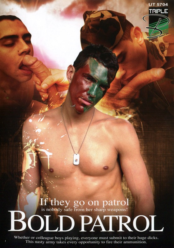 Bold Patrol DVD - Front