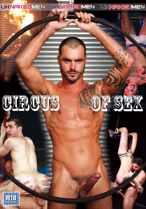Circus Of Sex DVD - Front