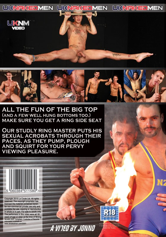 Circus Of Sex DVD - Back