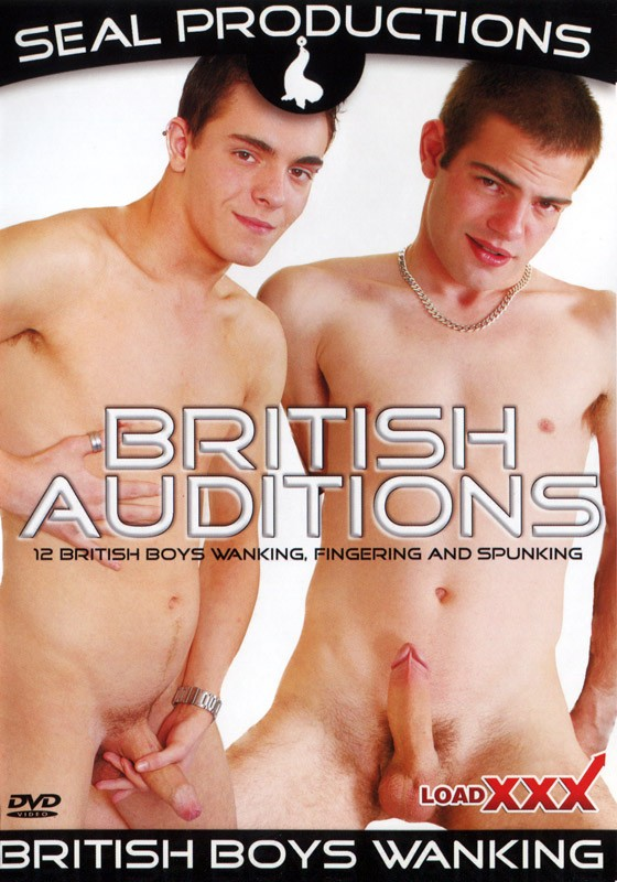 British Auditions DVD - Front