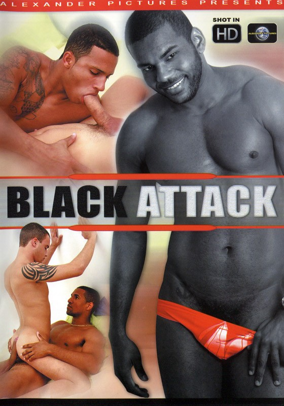 Black Attack DVD - Front