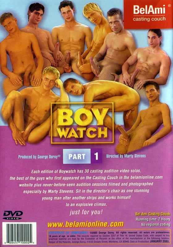 Boy Watch Part 1 DVD - Back