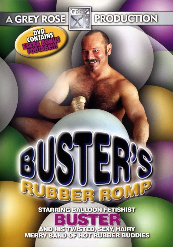 Buster's Rubber Romp DVD - Front