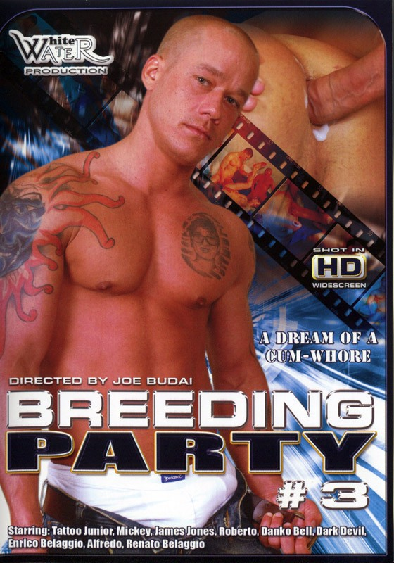 Breeding Party 3 DVD - Front