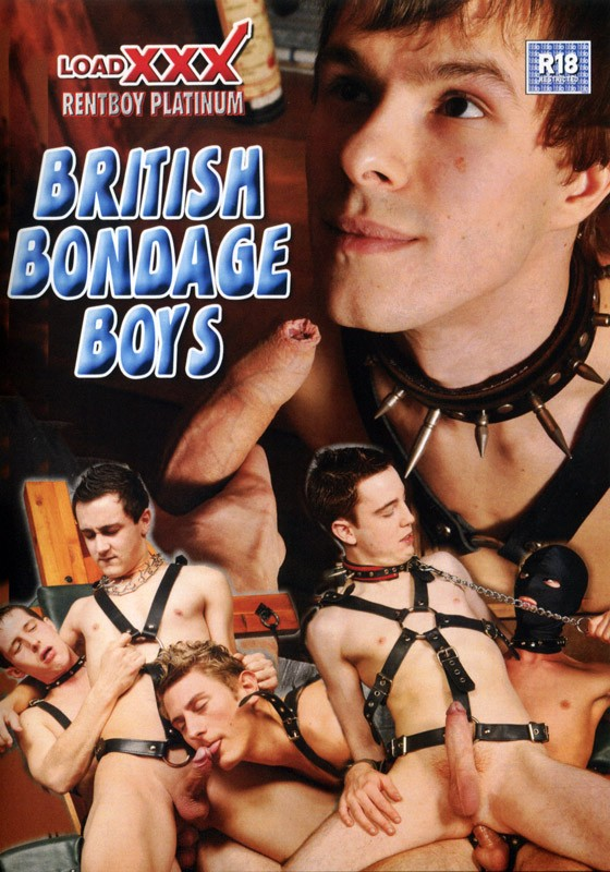 British Bondage Boys DVD - Front