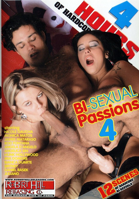 Bi-Sexual Passions 4 DVD - Front