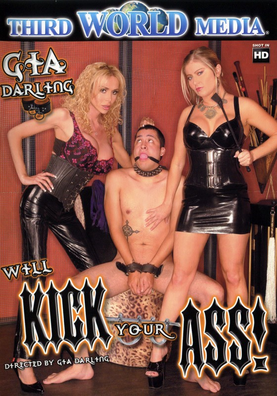 Gia Darling Will Kick Your Ass DVD - Front