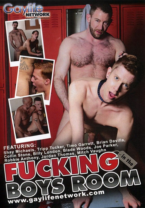 Fucking in the Boys Room DVD - Front