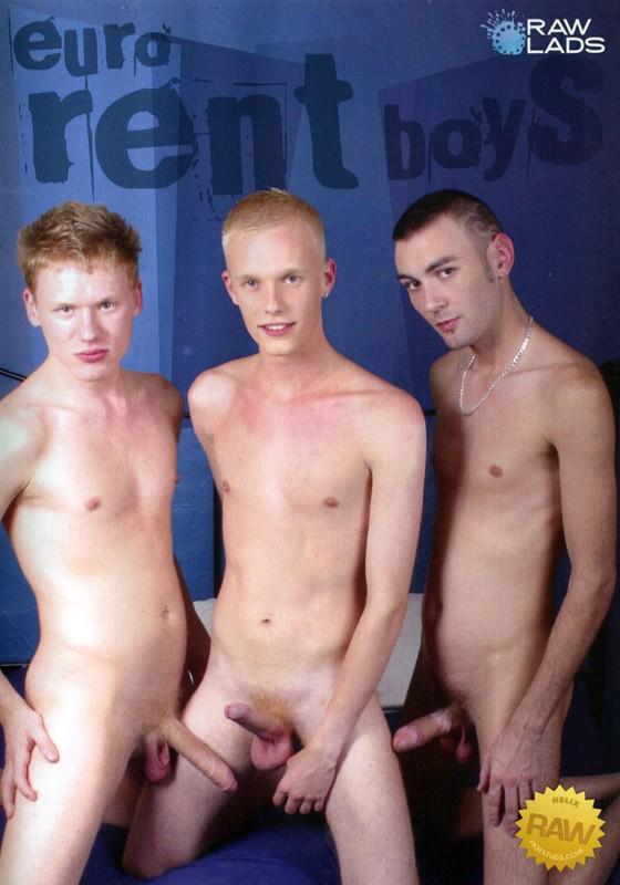 Euro Rent Boys DVD - Front