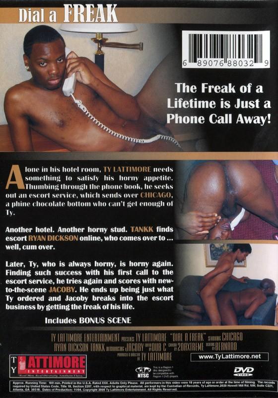 Dial a Freak DVD - Back