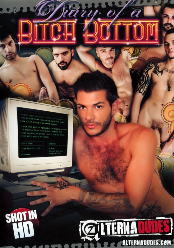 Diary of a Bitch Bottom DVD - Front