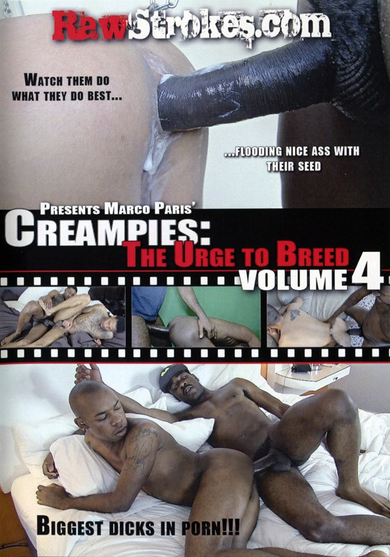 Creampies: The Urge to Breed Vol.4 DVD - Front