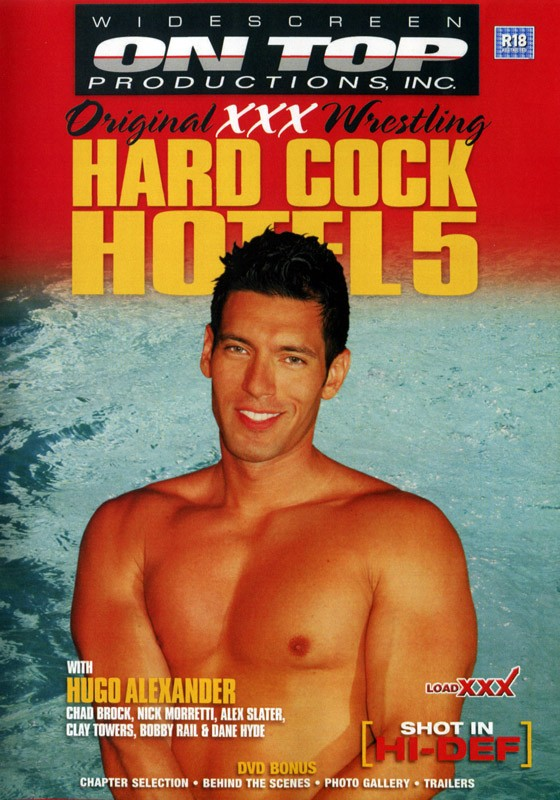 Hard Cock Hotel 5 DVD - Front