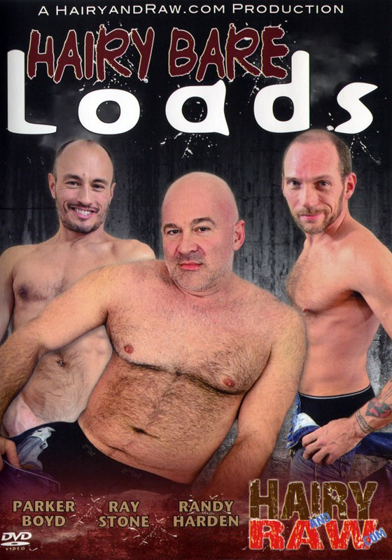 Hairy Bare Loads DVD - Front