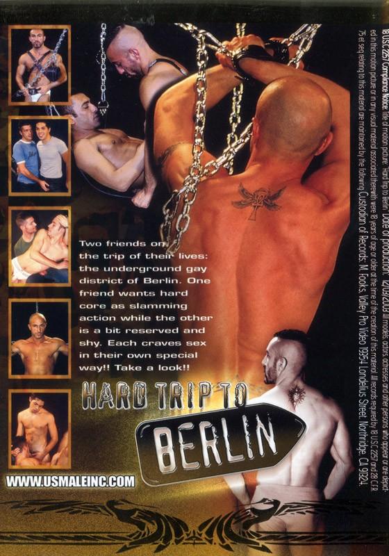 Hard Trip To Berlin DVD - Back