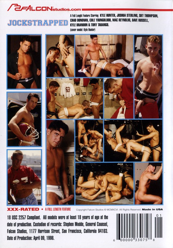 Jockstrapped DVD - Back