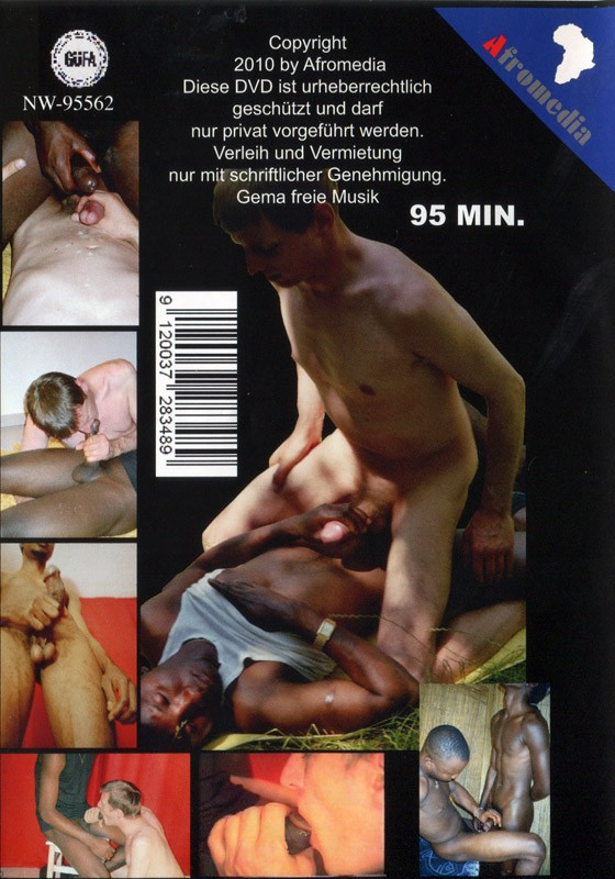 Gay Holiday In Africa DVD - Back