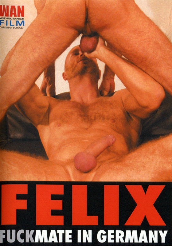 Felix Fuckmate in Germany DVD - Front