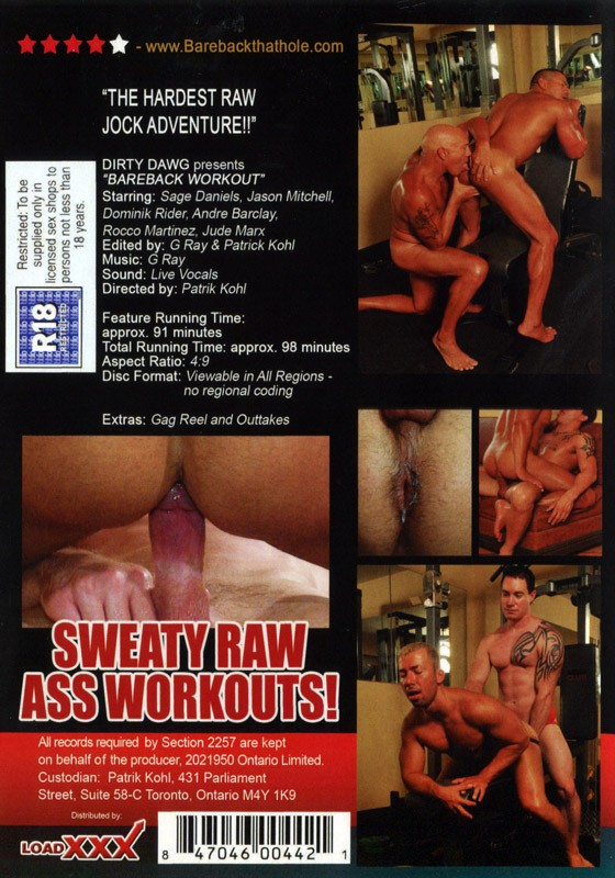 Bareback Workout DVD - Back