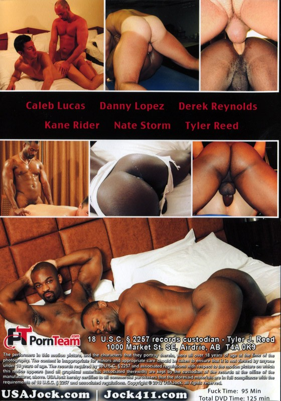 Bareback Bubble Butts DVD - Back