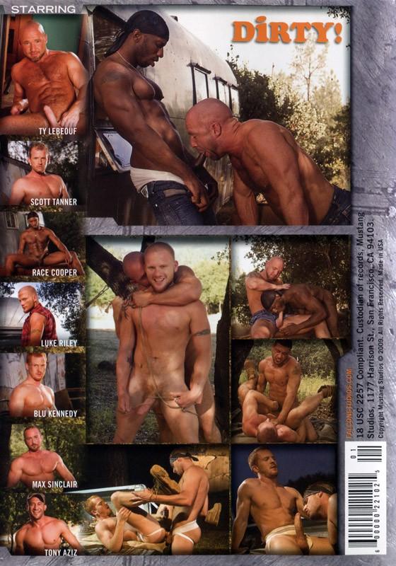 Dirty! Mustang DVD - Back