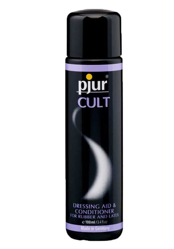 Pjur CULT dressing aid & conditioner Bottle 100ml - Front