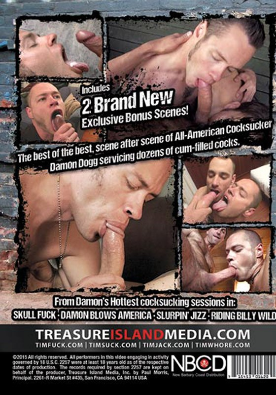 Legendary Cocksucker: Damon Dogg DVD - Back