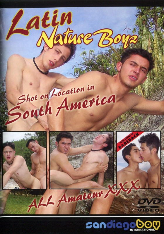 Latin Nature Boyz DVD - Front