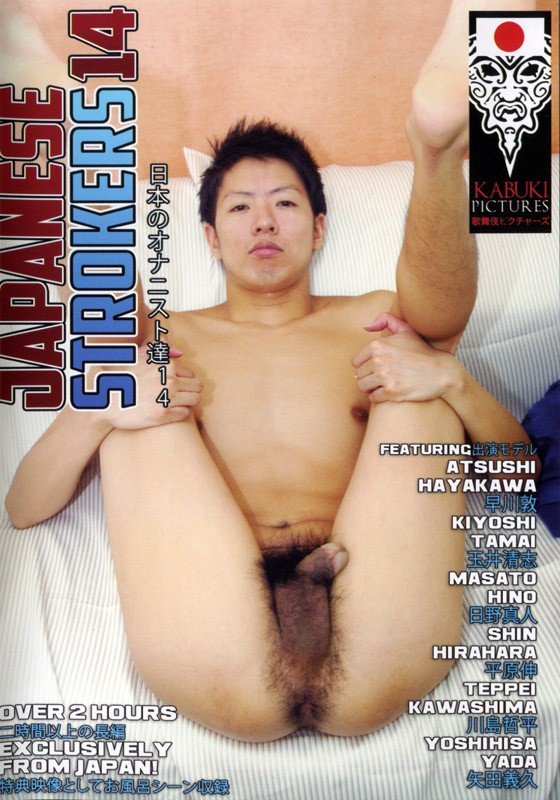 Japanese Strokers 14 DVD - Front
